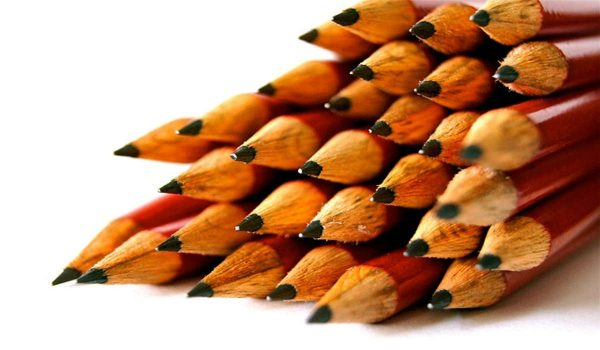 Gespitze Bleistifte